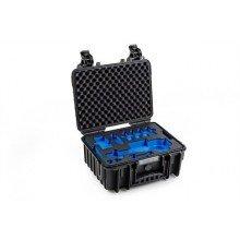 B&W Outdoor.cases Type 3000 zwart / DJI Osmo mobile inlay