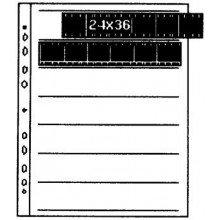 Kaiser Negatiefbladen 35mm @100 7 stroken van 6 negatieven