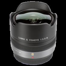 Panasonic 8mm/3.5 MFT