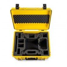 B&W Outdoor.cases Type 6000 geel / DJI Phantom 4 / Pro / Pro+ / Advanced / Obs