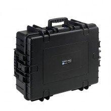 B&W Outdoor.cases Type 6500 zwart / plukschuim