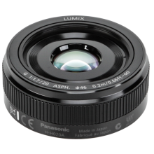 Panasonic Lumix G 20/1.7 II ASPH