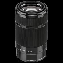 Sony Sel 55-210/4.5-6.3 zwart