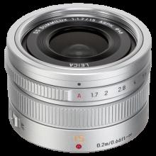 Panasonic MFT 15/1.7 zilver ASPH Leica DG Summilux