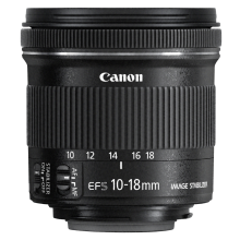 Canon EF-S 10-18 4.5-5.6 STM