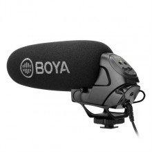 Boya BY-BM3031 shotgun video mic voor DSLR's fotocamera's