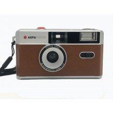 Agfa fotocamera analoog 35mm bruin