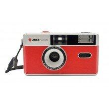 Agfa fotocamera analoog 35mm oranje