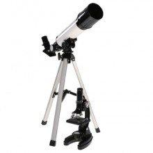 Byomic Beginners Microscoopset & Telescoop in koffer