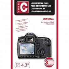 Caruba LCD Cover Universeel. 4,3