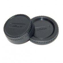 Caruba Fujifilm bodydop + Nikon achterlensdop