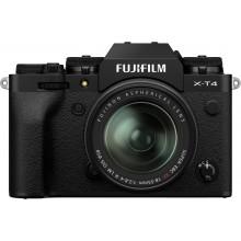 Fujifilm X-T4 body + XF18-55 zwart