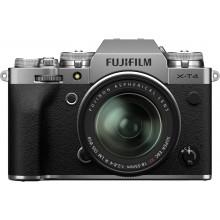 Fujifilm X-T4 body + XF18-55 zilver