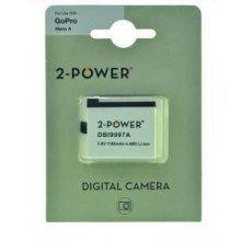 2Power GoPro Hero 4 accu