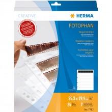 Herma Negatiefbladen 25 bladen 6-Strips 7762
