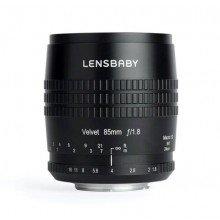 Lensbaby Velvet 85 black Samsung NX