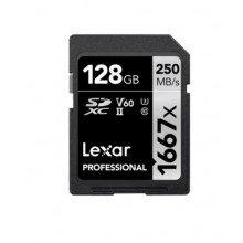 Lexar SDXC 128gb 1667x UHS II