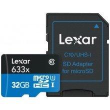 Lexar Micro SDHC 32gb 633 UHS I