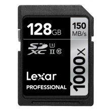 Lexar SDXC 128gb 1000x UHS II