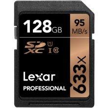 Lexar SDXC 128gb 633x UHS I