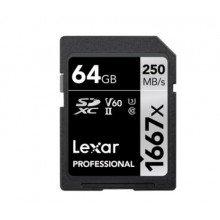 Lexar SDXC 64gb 1667x UHS II