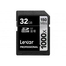 Lexar SDHC 32gb 1000x UHS II