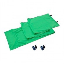 Lastolite Panoramic background connection kit green