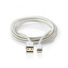 Nedis Apple lightning kabel 2 mtr