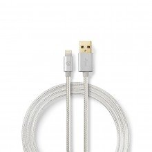 Nedis Apple lightning kabel 3 mtr