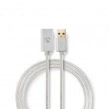 Nedis USB 2.0-Verlengkabel | 2,0 m |