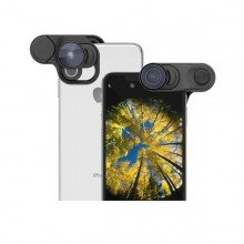Olloclip iPhone XS MAX Clip + Fisheye + Super Wide + Macro lens set iPhone XS MAX