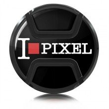 Kaiser Lens cap snap-on style I love pixel 77mm