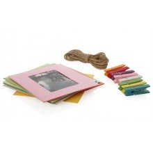 "Polaroid Photo Frames 2x3"""" Square color"