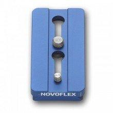 """Novoflex Snelkoppelplaat 84mm incl. 1/4"""""""" en 3/8"""""""" schroef"""