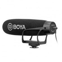 Boya BY-BM2021 shotgun mic voor DSLR's fotocamera's