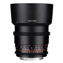 Samyang 85mm T1.5 VDSLR AS IF UMC II Canon