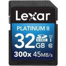 Lexar SDHC Premium UHS-1 300x 32GB