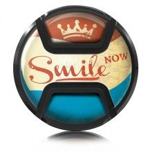 Kaiser Lens cap snap-on style smile now 77mm