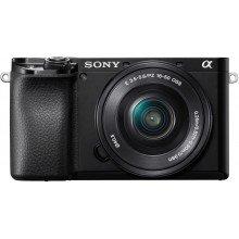 Sony A6100+16/50+55/210 zwart