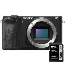 Sony A6600 incl Lexar geheugenkaart