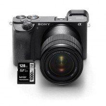 Sony A6600 met lens 18-135 incl lexar geheugenkaart
