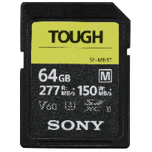 Sony SDXC M Tough series 64GB UHS-II Class 10 U3 V60