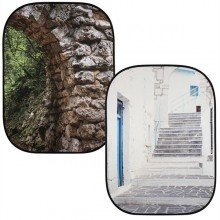 Lastolite Perspective collapsible 150x210cm stone/steps