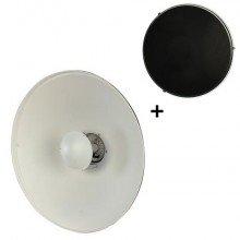StudioKing Beauty Dish Wit SK-BD550W 55 cm voor Falcon Eyes