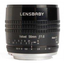 Lensbaby Velvet 56 black Pentax