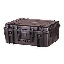 B&W Outdoor.cases Type 6000 zwart / Xeen inlay