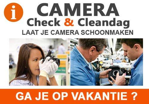 Camera schoonmaakdagen