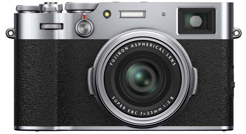 Fujifilm X100V zilver body