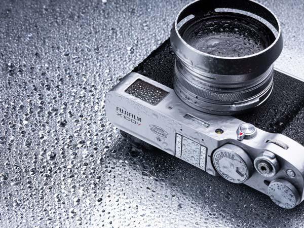 Fujifilm X100V waterbestendig