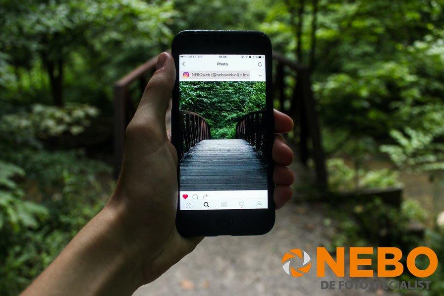 Blog maak de mooiste foto voor op Instagram NEBO